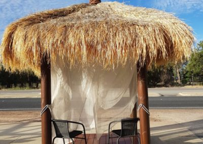 1 - Front Bali Hut