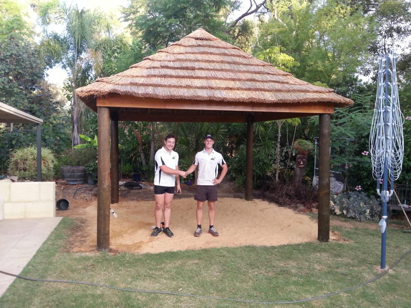 African Hut 4m x 4m