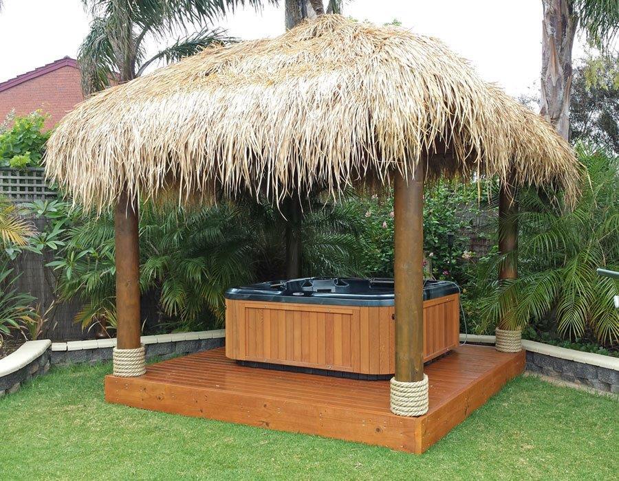 Bali Hut with spa
