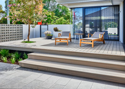 1 - Composite deck steps
