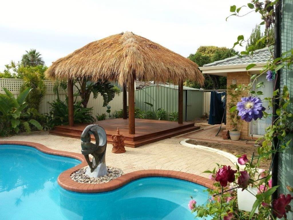 Bali hut diy bali huts for Pool hut designs