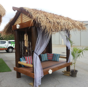 Gable Bali Thatch Roof
